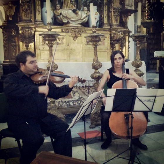 Violín para ceremonias madrid