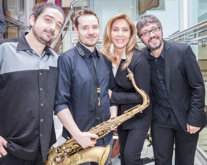 Trío de jazz para inauguraciones
