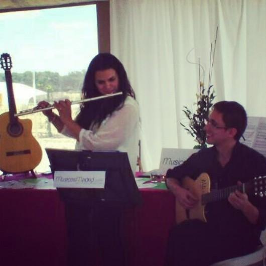 Flauta y Guitarra para eventos