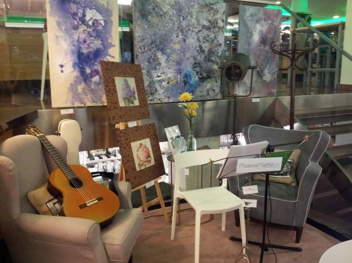 Mercado de Moncloa, Concierto Guitarra Clásica
