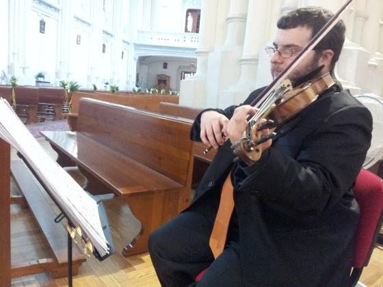 Violín y guitarra para ceremonias