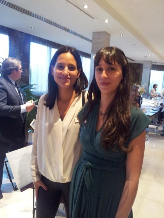 Con Cristina, un placer!
