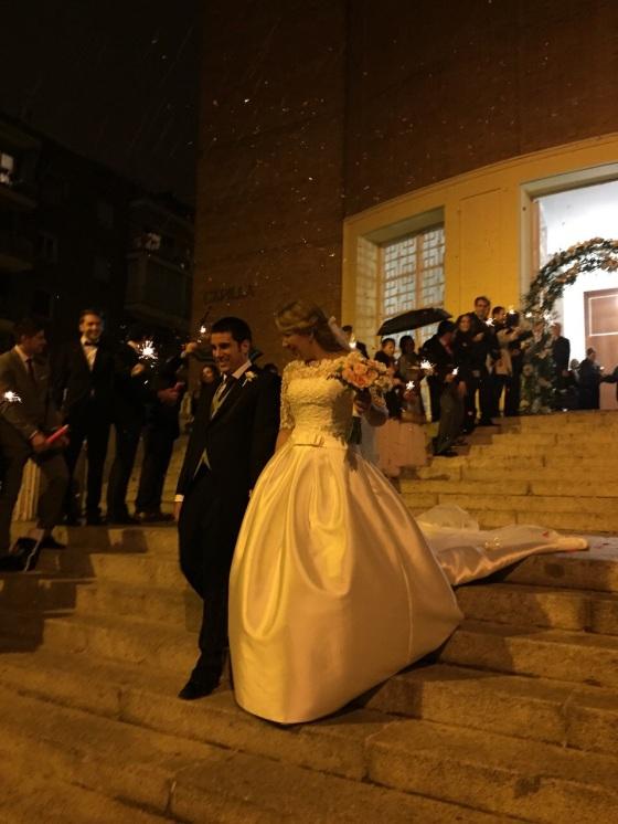 Carolina y Jaume, la última boda del año.