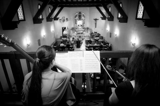 Violín y guitarra para bodas
