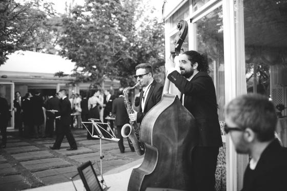 Trío de Jazz. Foto: Momenta Bodas
