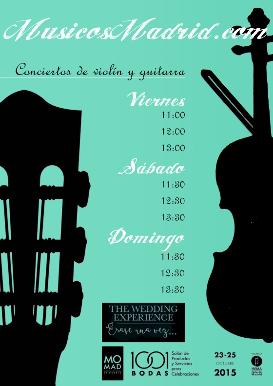 Horarios conciertos