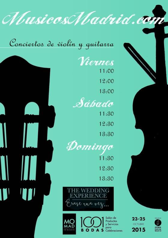 Horarios conciertos